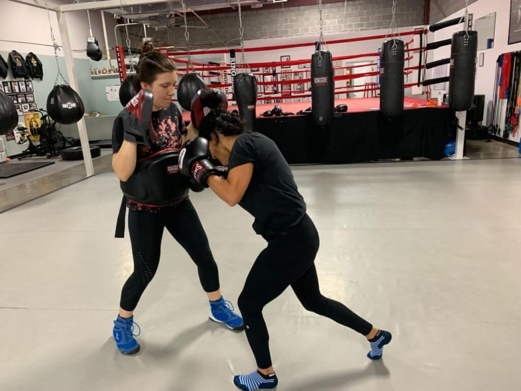 Private Training at Austin Boxing Babes